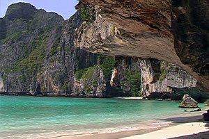 Spend the night in Maya Bay