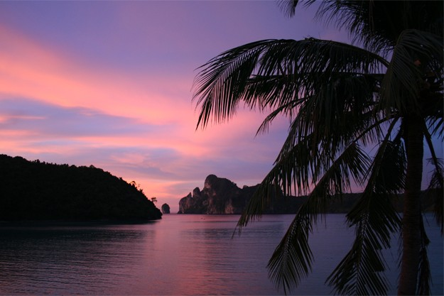 Sunset in Phi Phi